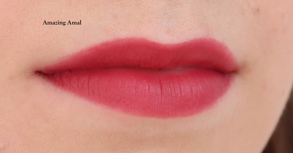 Charlotte Tilbury Hot Lips 2 Amazing Amal Lip Swatch Fair Skin