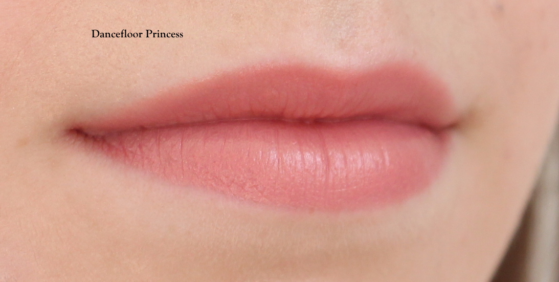 Charlotte Tilbury Hot Lips 2 Dancefloor Princess Lip Swatch Fair Skin