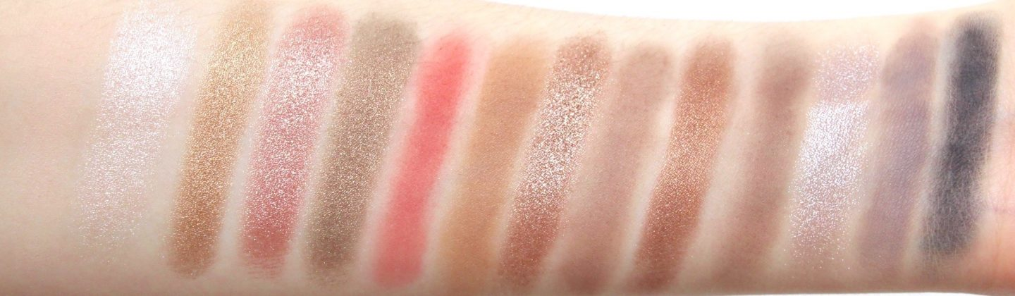 Anastasia Beverly Hills Sultry Palette Arm Swatches