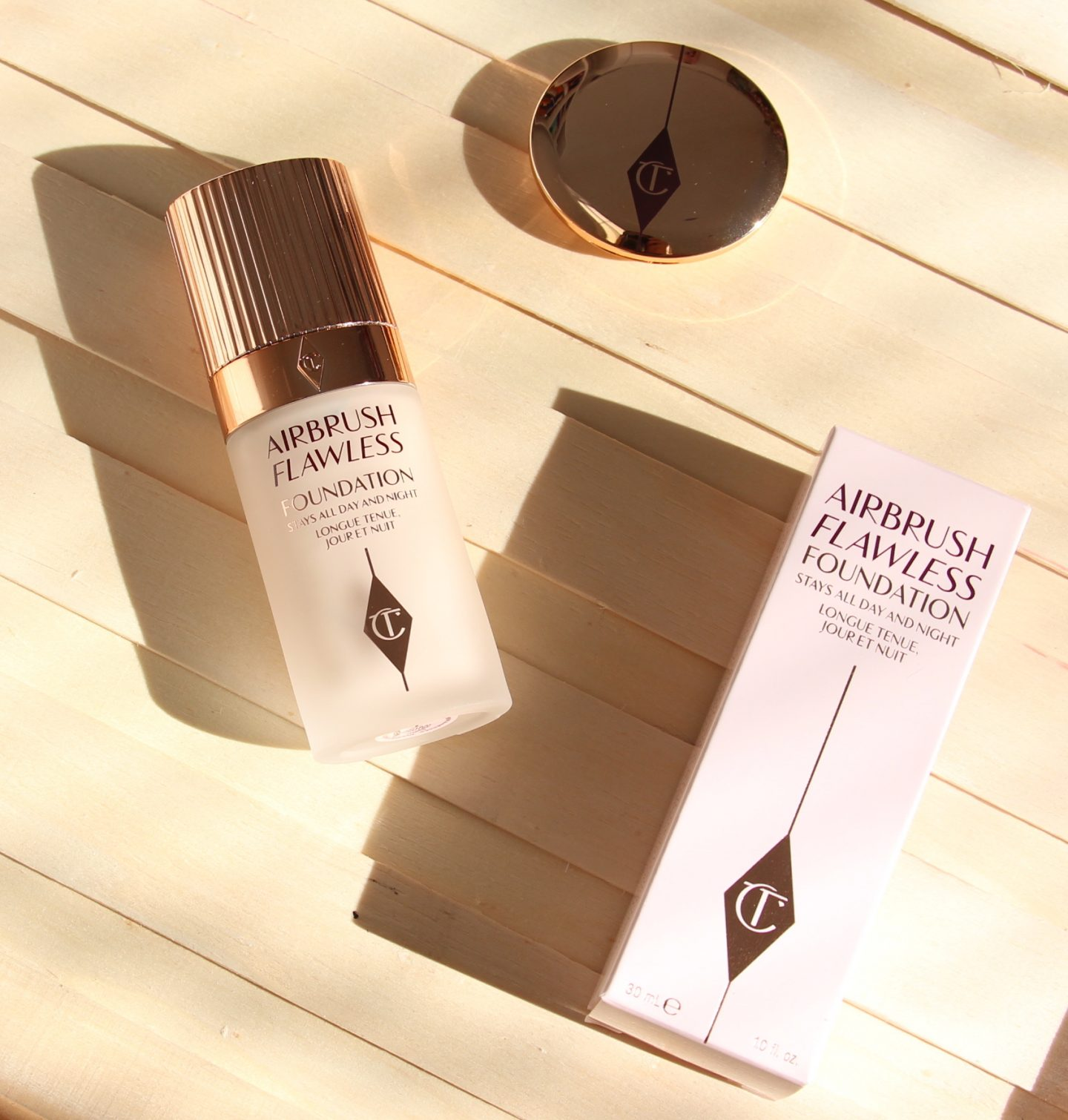 Charlotte Tilbury Airbrush Flawless Foundation and Magic Vanish