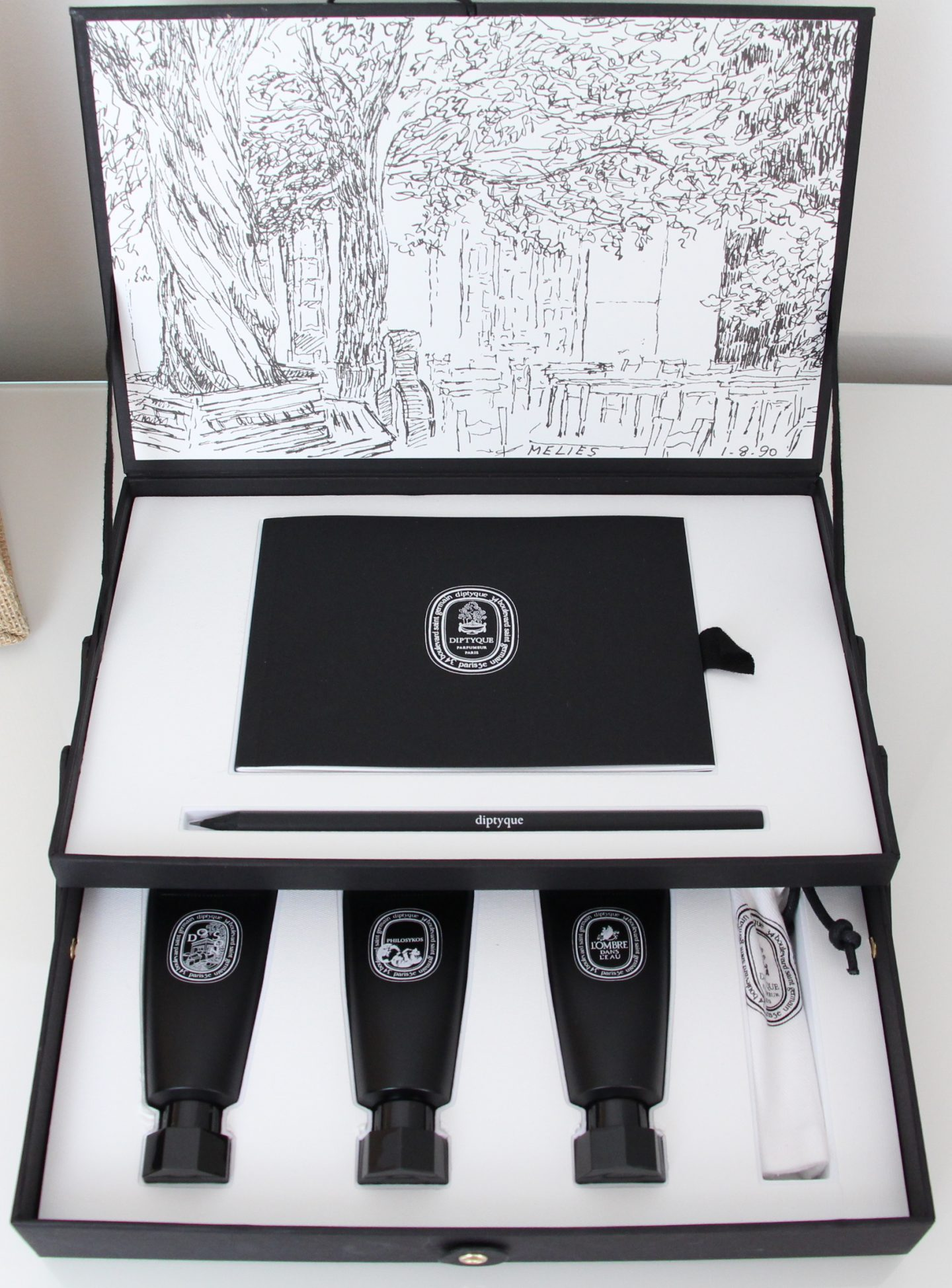 Diptyque 50th Anniversary Limited Edition Perfume Oil Coffret