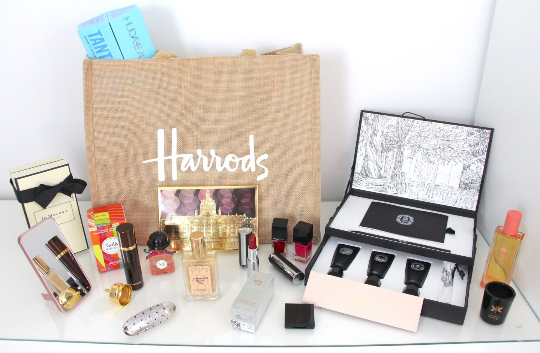 Harrods Beauty Hall Event goodie Bag