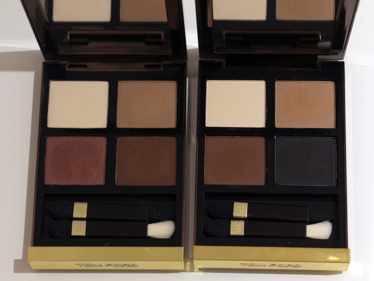 Tom Ford Eye Colour Quads Mink Mirage and Cocoa Mirage