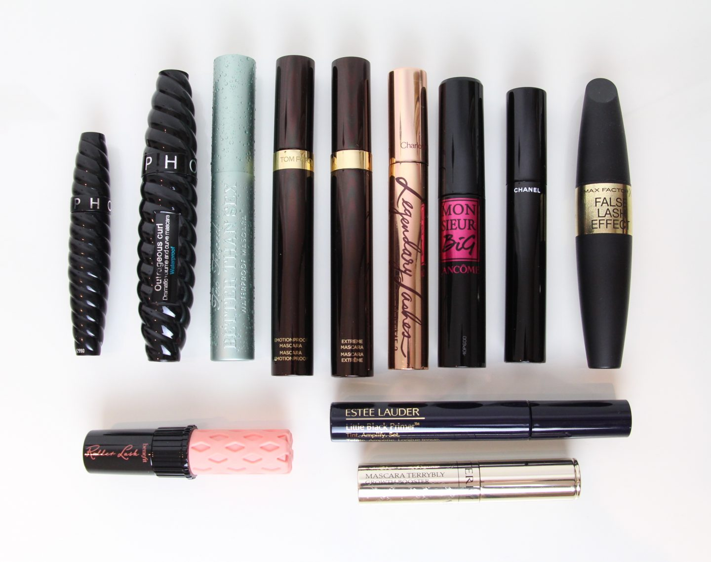 Mascara Round-up: Mini Reviews on Recent Empties