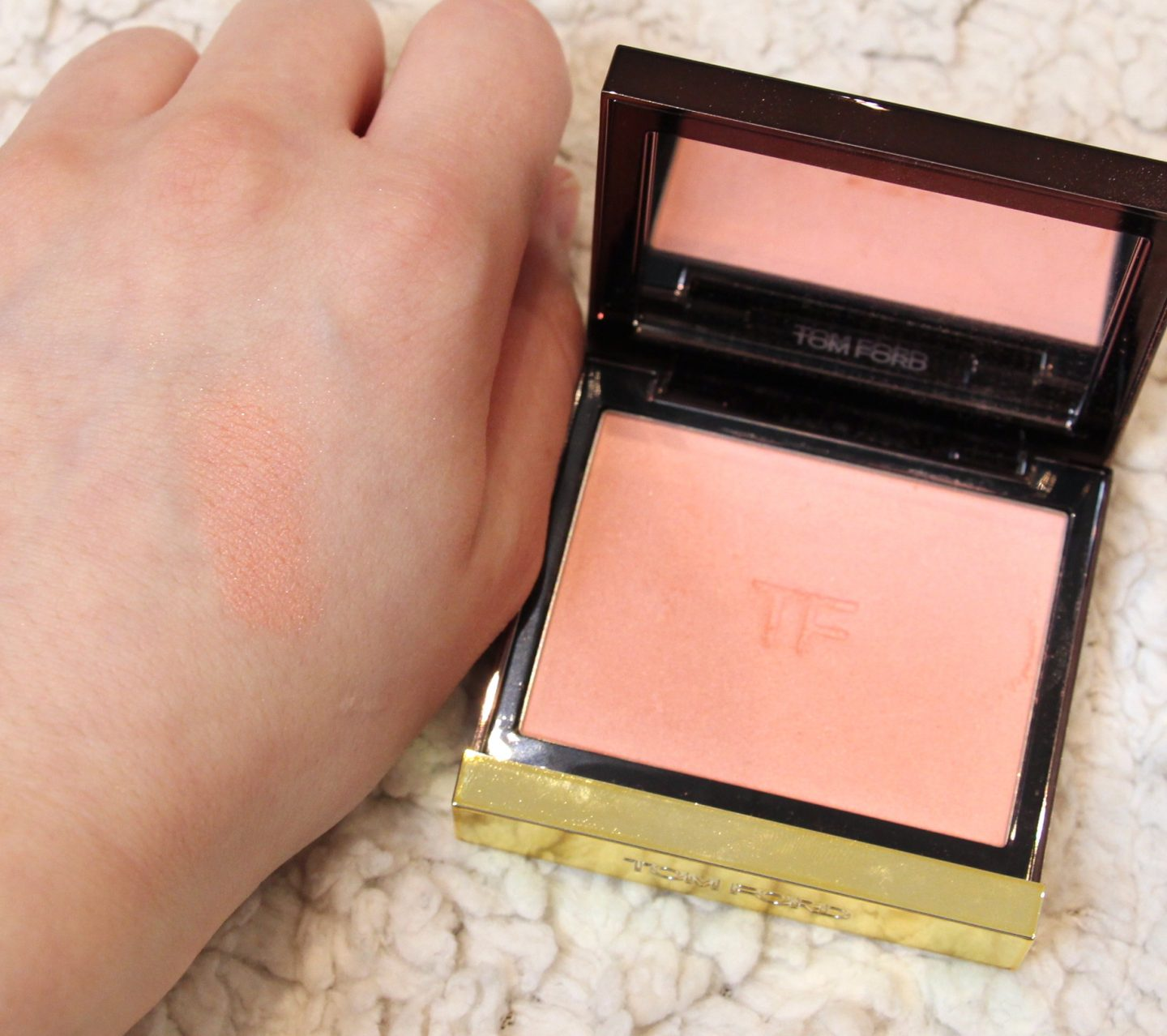 Tom Ford Cheek Colour Frantic Pink + Swatch