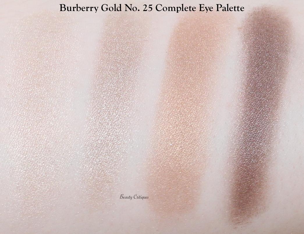 Burberry Gold No.25 Eye Quad