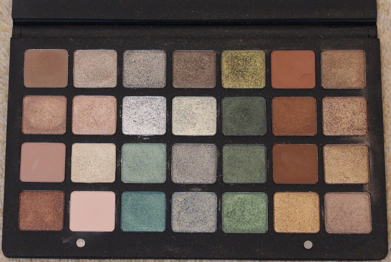 Natasha Denona 28 pan Green Brown Eye Palette