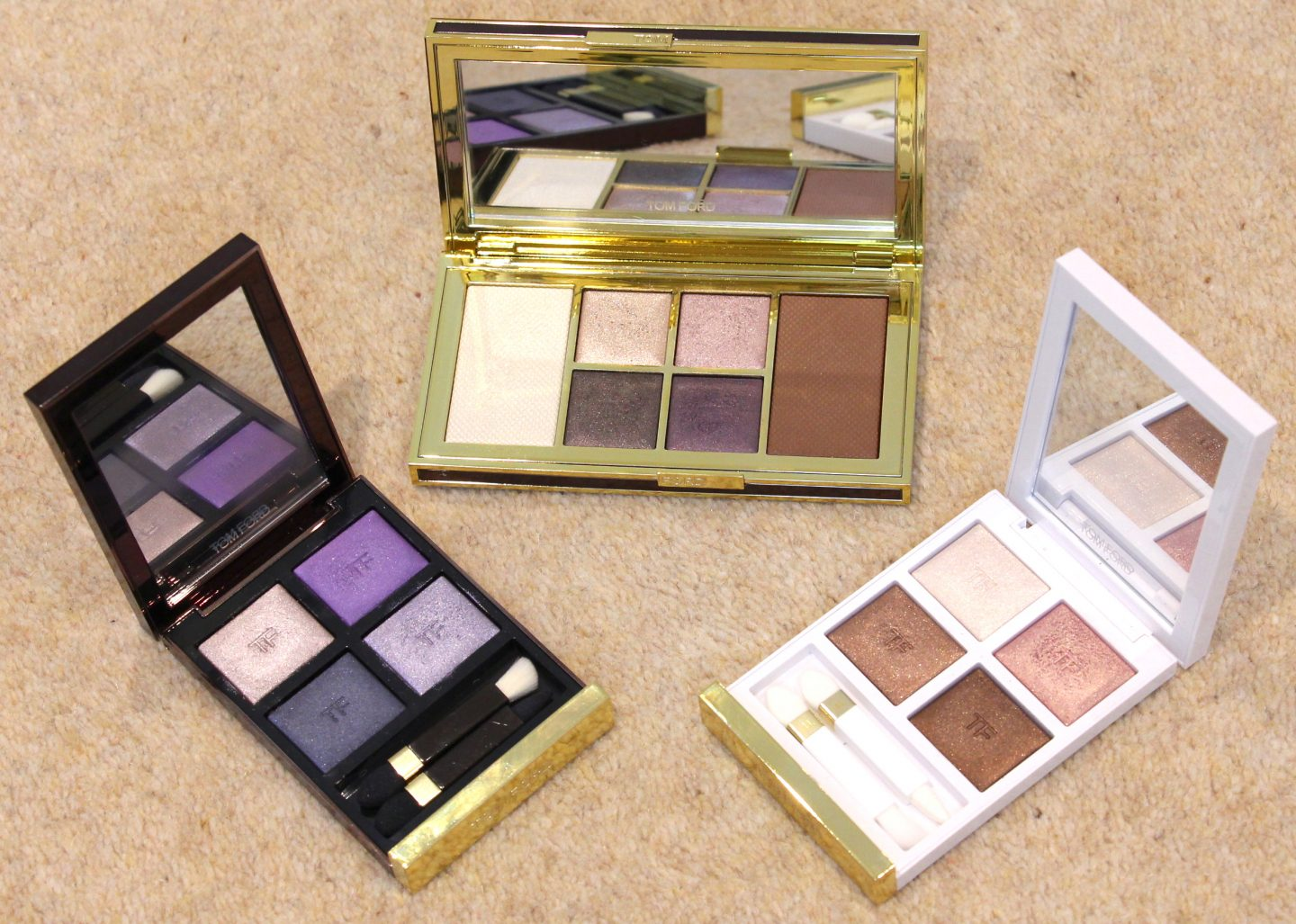 Tom Ford Eye Quads & Shade and Illuminate palette Moonlit Violet