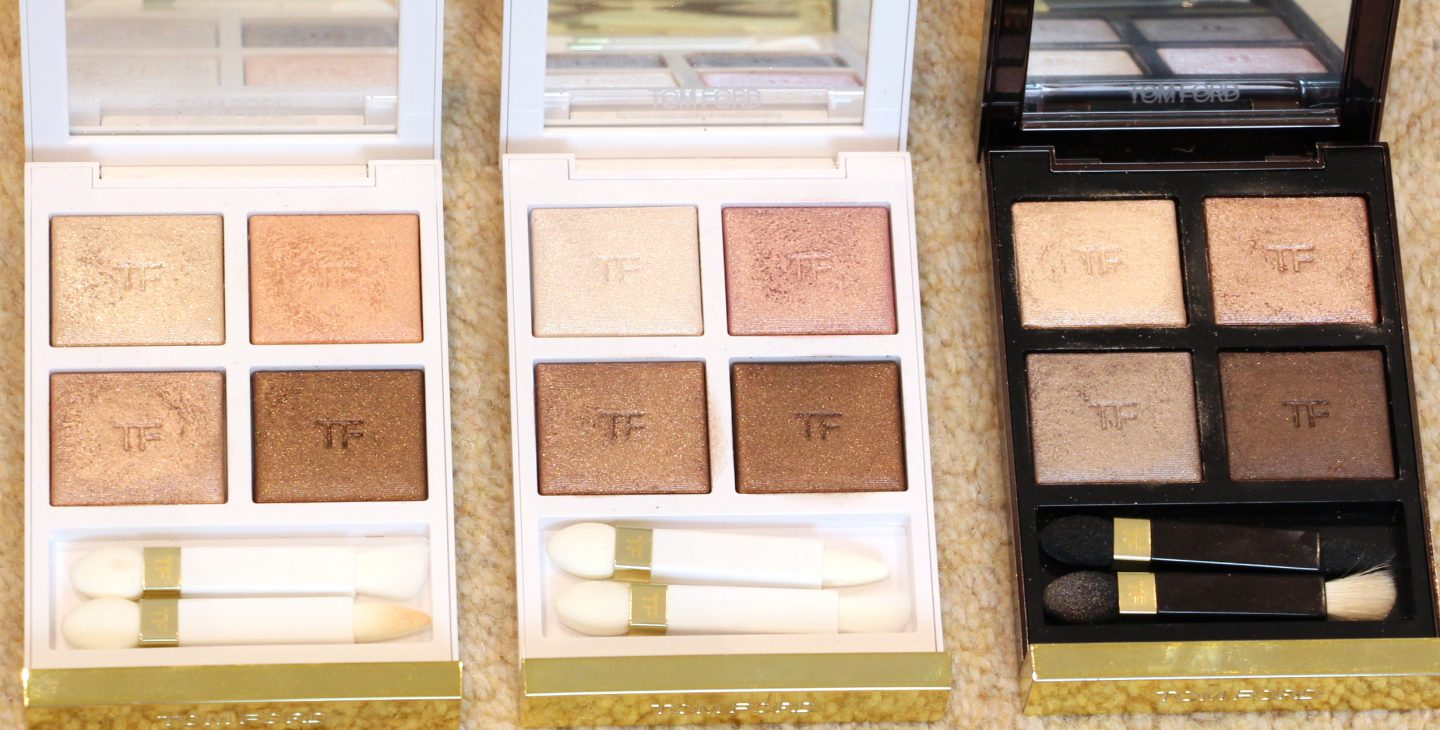 Tom Ford First Frost Eye Quad Comparisons