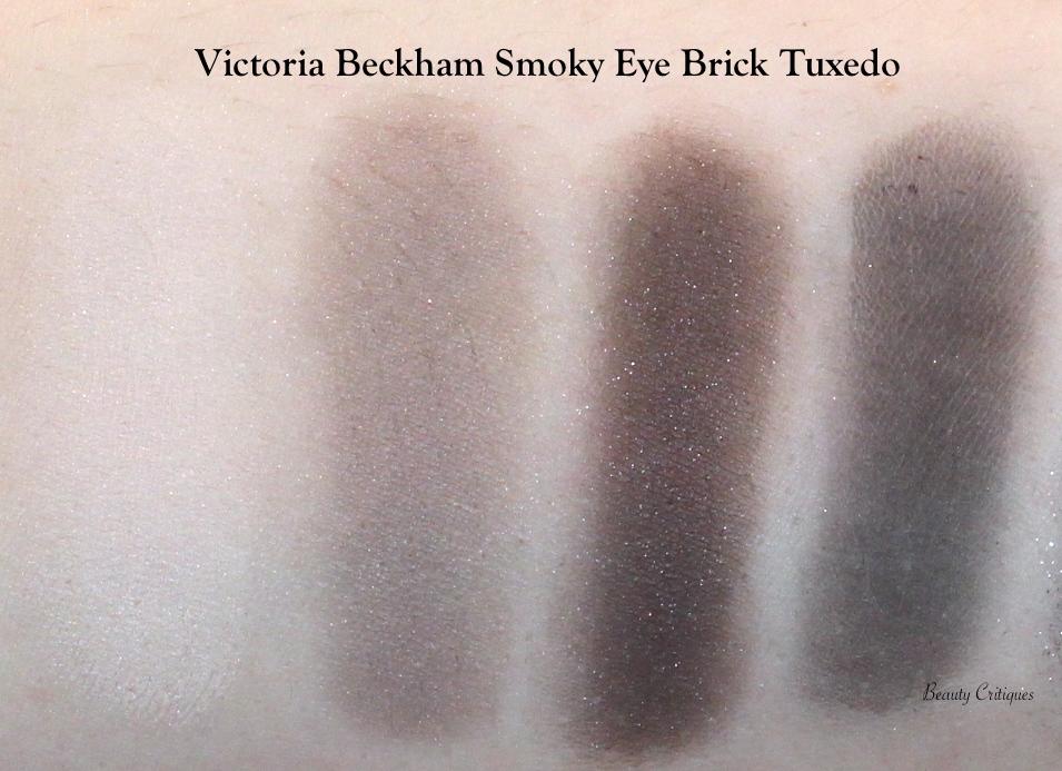 Victoria Beckham Smoky Eye Brick Tuxedo Swatches