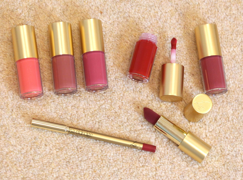 Lisa Eldridge Lip Products: Velvet Lipstick, Lip Gloss Embrace, Lip Liner