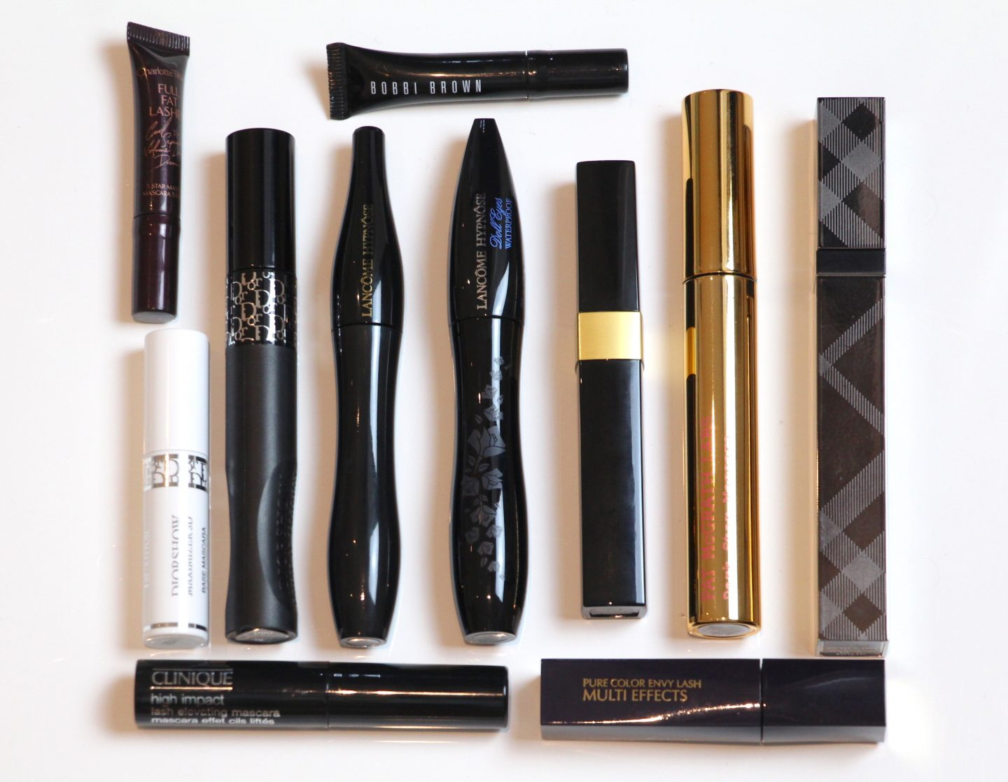 Mascara Round-up #2: Mini Reviews on Recent Empties