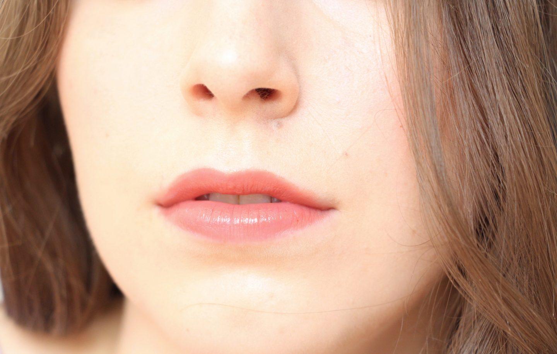 Armani Ecstasy Mirror Lip Lacquer in shade 101 - lip swatch