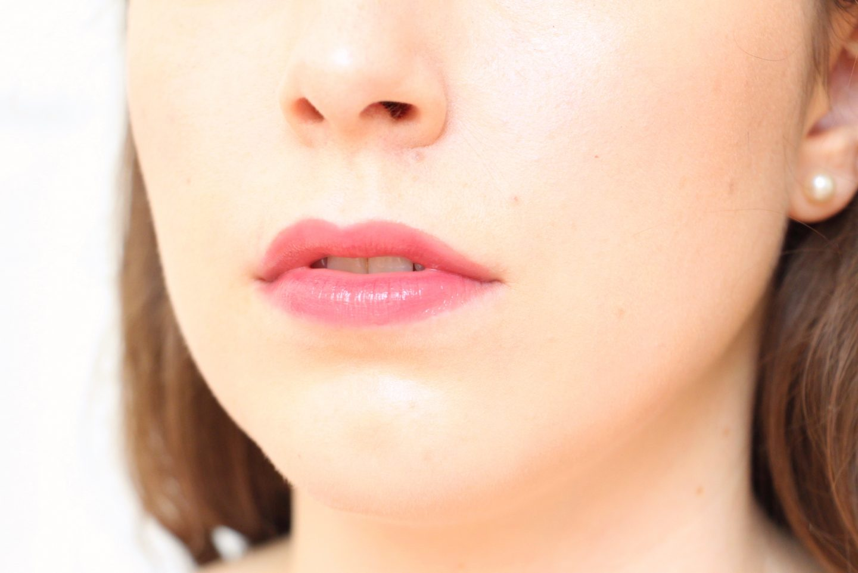 Armani Ecstasy Mirror Lip Lacquer in shade 502 - lip swatch