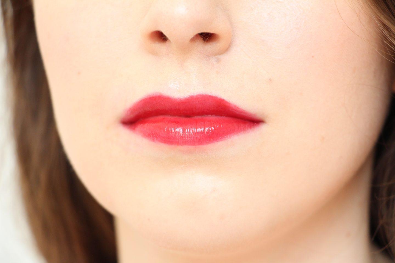 Armani Ecstasy Mirror Lip Lacquer in shade 400 - lip swatch