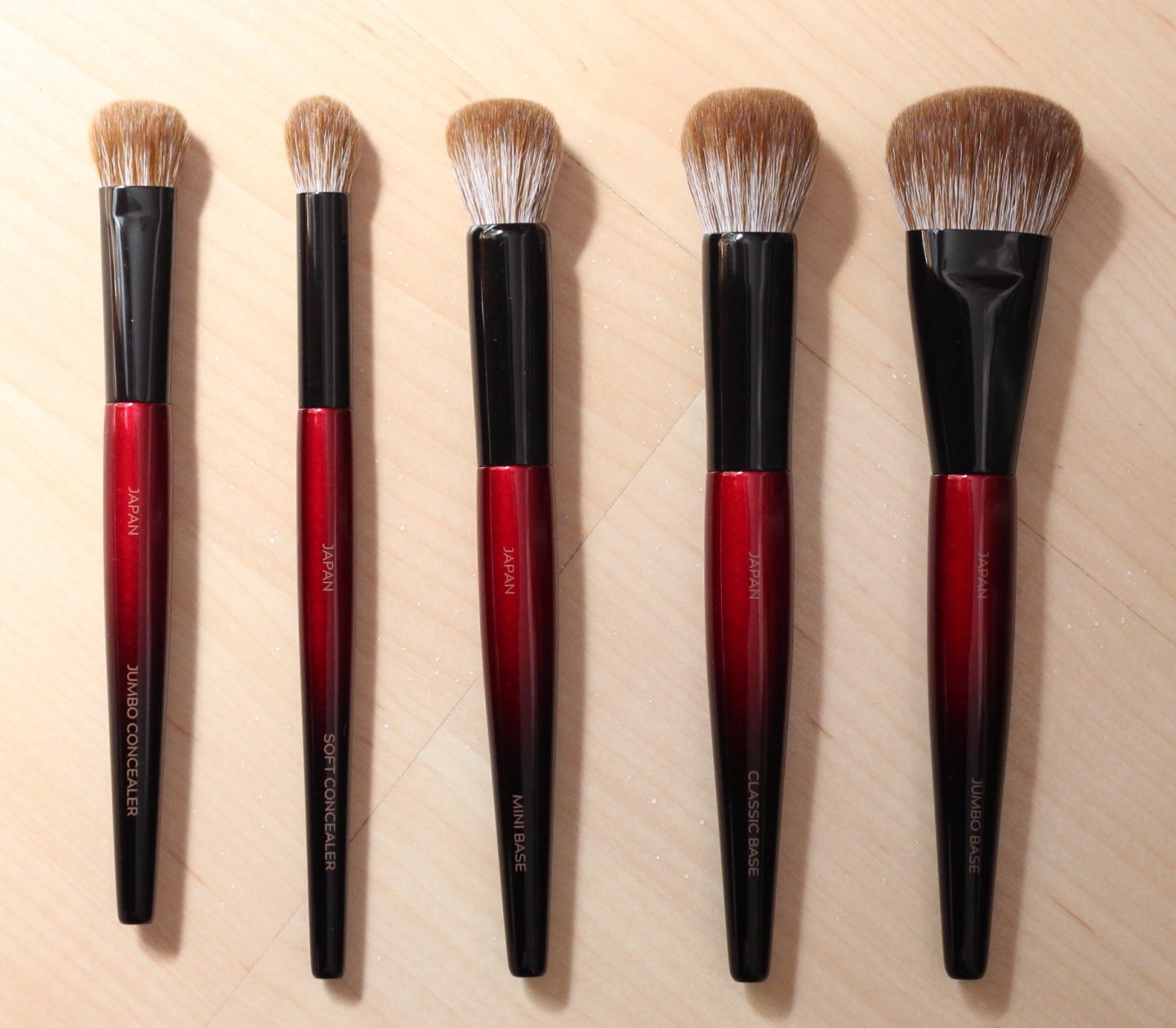 Sonia G Fusion Series Brushes